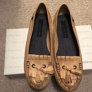 Calvin Klein Melody Vegan Leather Loafers